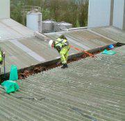 Reforma de telhados industriais