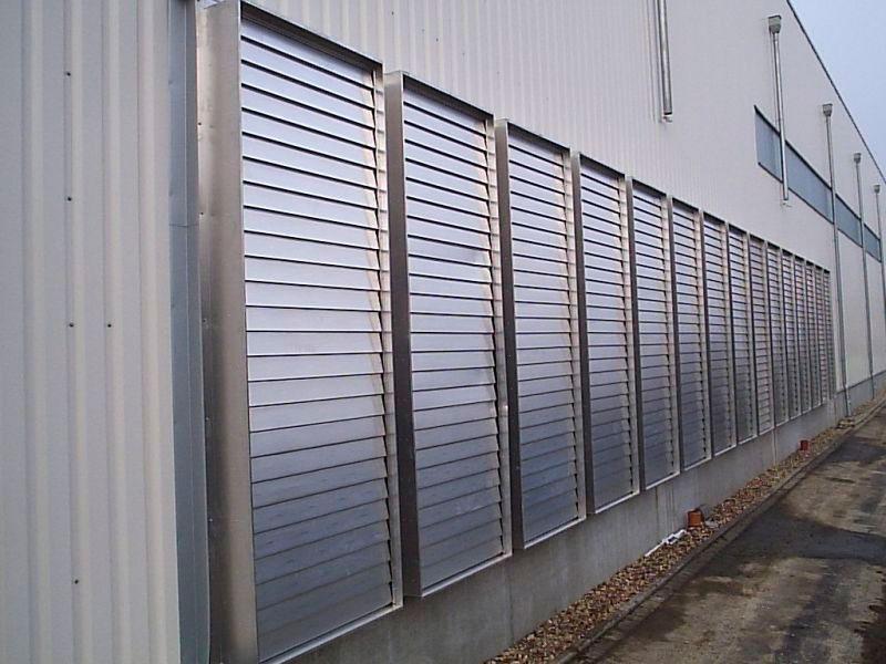 Venezianas industriais alumínio